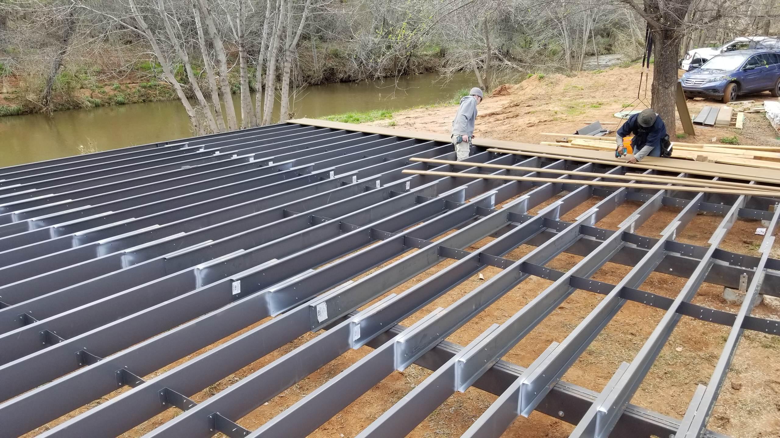 Steel framing lasts decades