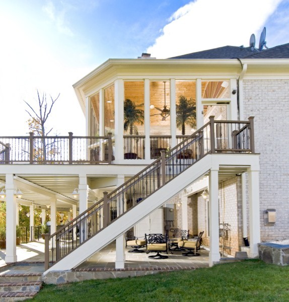 Example of a tuscan deck design in DC Metro