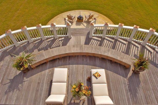 Deck - traditional deck idea in Charleston