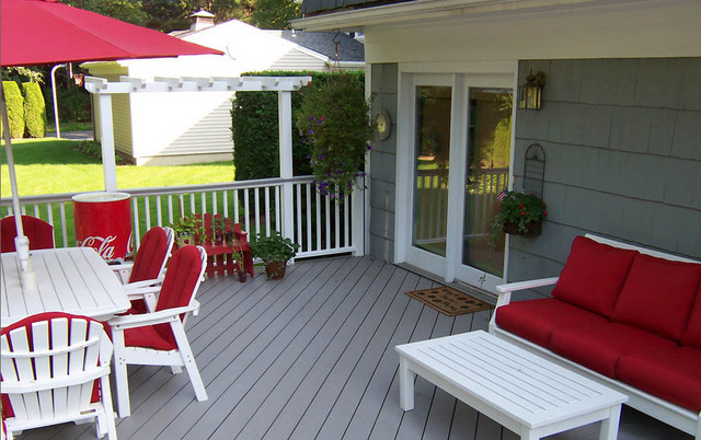 Summer collection transitional deck other metro by for Passarelli custom homes
