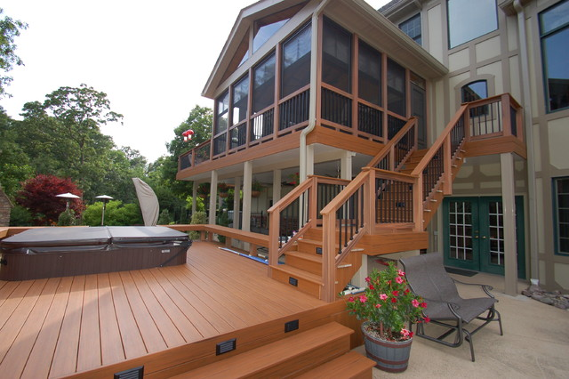 Sunrooms traditional-deck