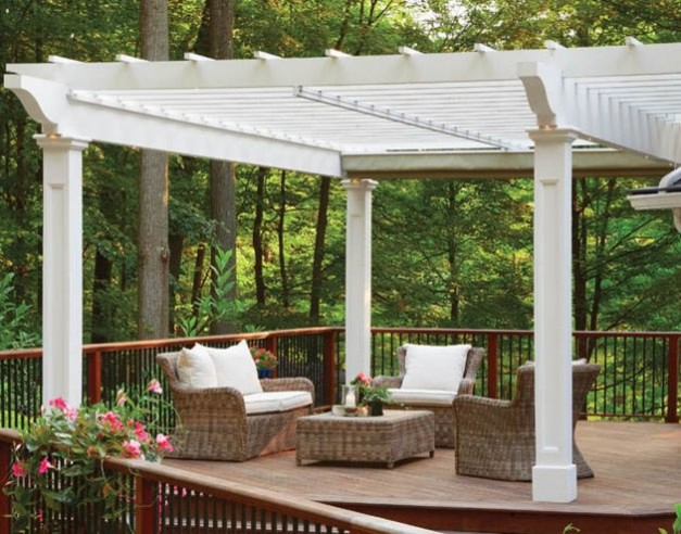 Surviving The Great Outdoors traditional-deck