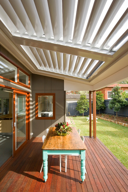 Sustainable Homes Contemporary Deck Sydney By