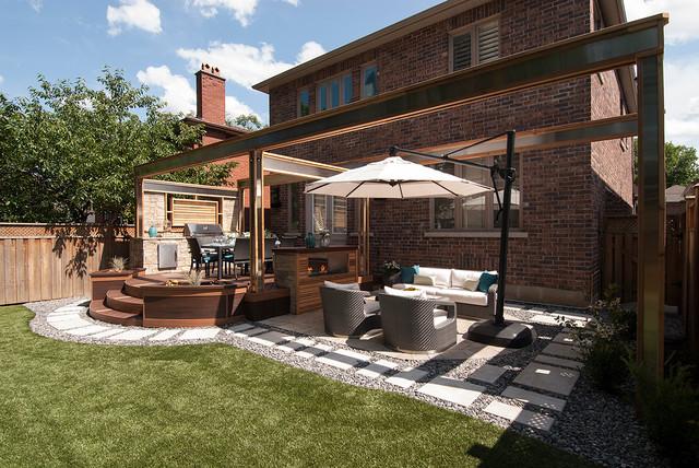 Backyard Fountains Ideas