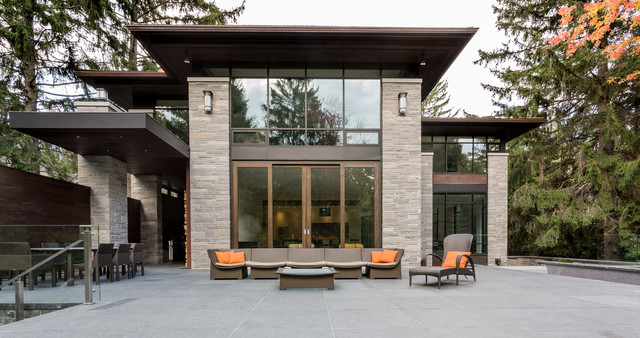 David Small Designs Architects. The Glass Room modern-exterior