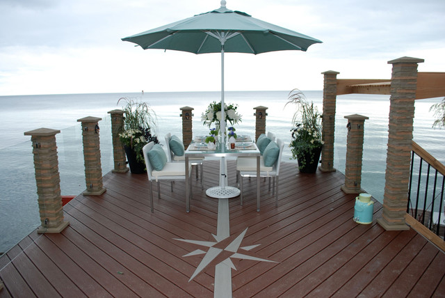 the waterfront deck traditional deck toronto by