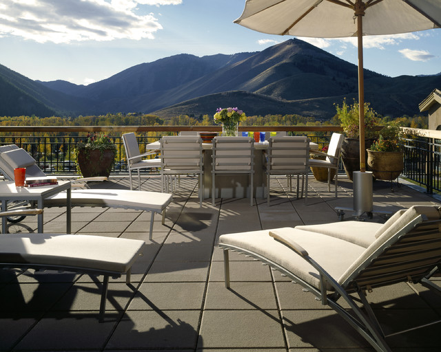 Sun Valley Patio modern-patio