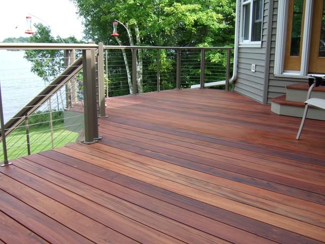 terrasse bois tiger wood