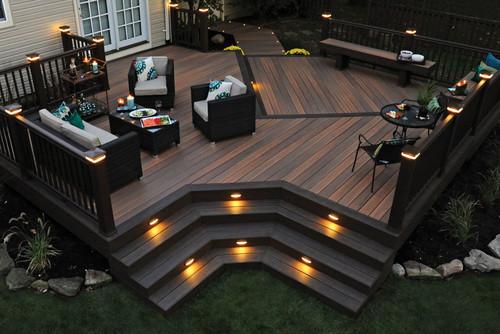 Timbertech deck material