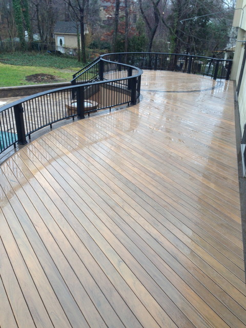 Timbertech Legacy Tigerwood Decking With Legacy Mocha