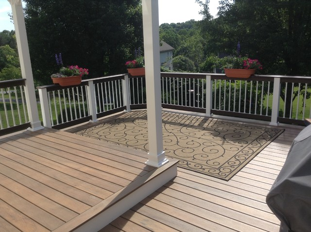 Timbertech Legacy With Pergola