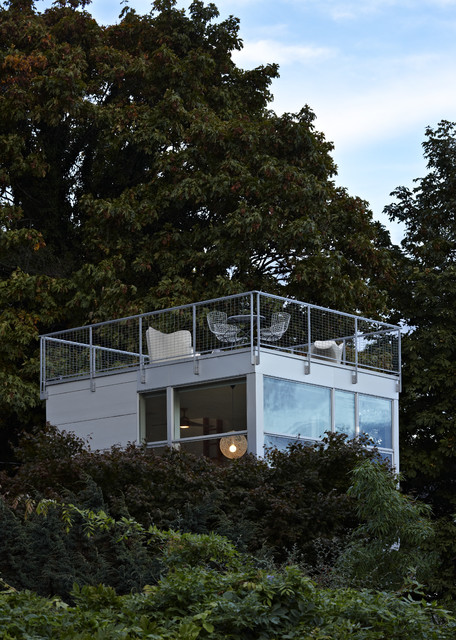 Tower House Modern Deck Seattle By David Coleman