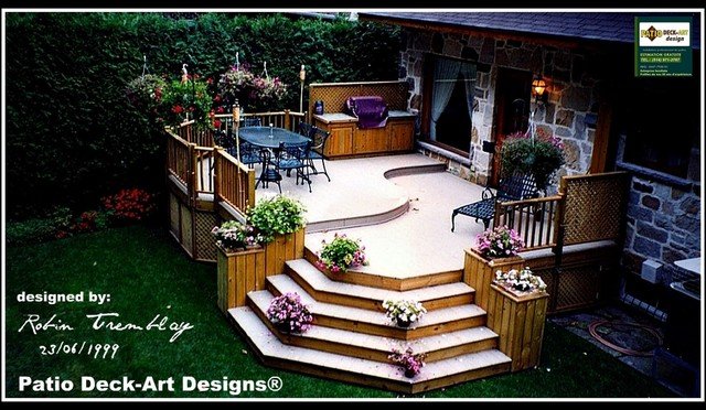 Outdoor Deck Ideas : Pin Patio Deck Art Designs Outdoor Living Contemporary Deck on
