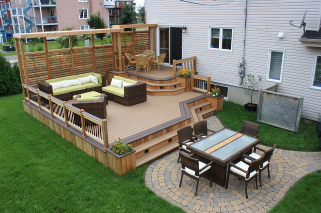 Charmant Inspiration For A Timeless Deck Remodel In Montreal