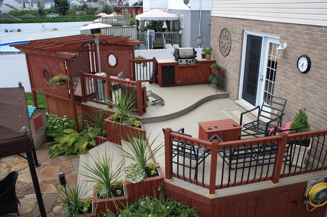 Colorful Outdoor Deck Decorating Ideas: Patio Deck-Art Designs® NEW 2013