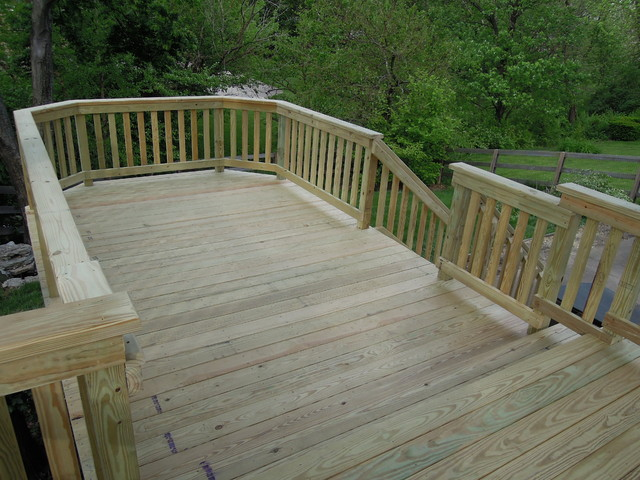 Treated Deck Reno traditional-deck