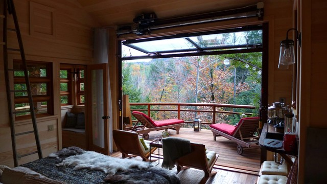 treehouse masters bedroom treehouse rustic deck