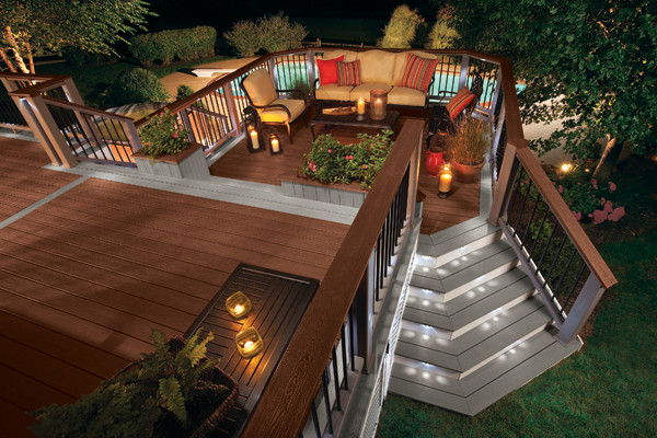 ... Garden Design With Trex Composite Decking Traditional Deck Other Metro  By With Backyards Designs From Houzz