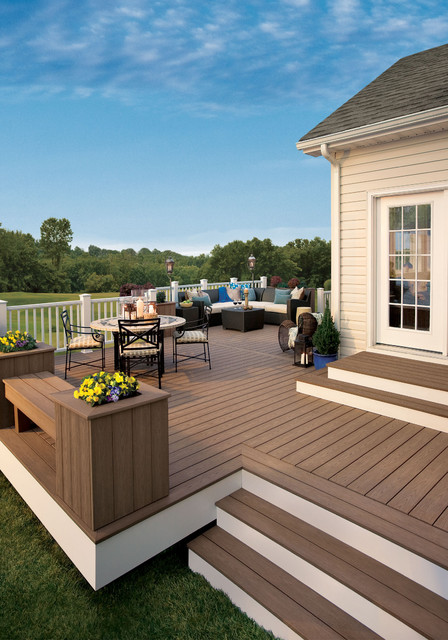Trex Composite Decking. traditional-deck