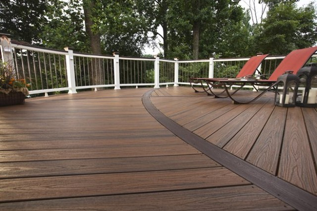 Trex Curved Deck Traditional Terrace Baltimore