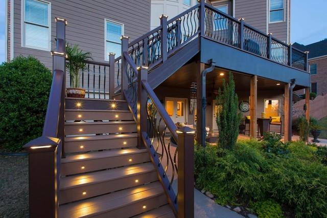 Trex Decking Front Porchmodern Deck New York