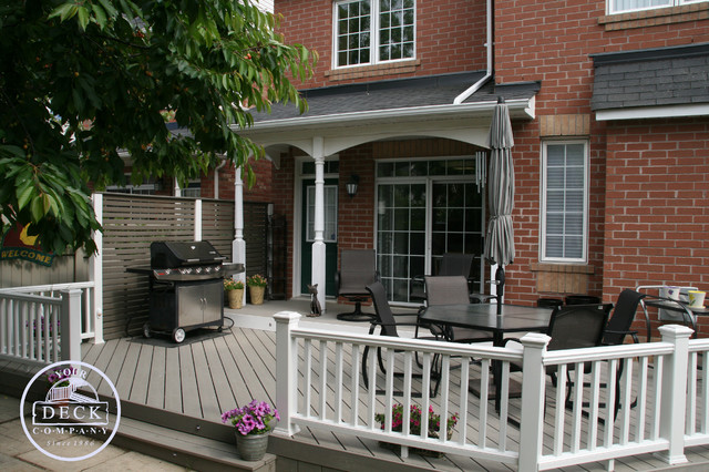 Trex Decks Traditional Deck Toronto By Your Deck