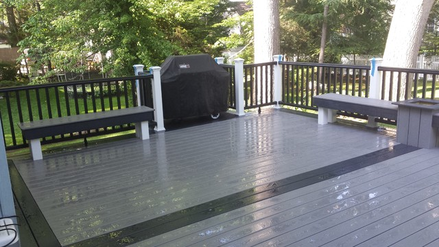 awesome red trex decking color selections for amazing ...