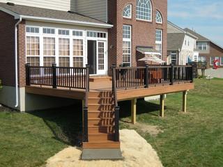 Trex Transcend Composite Deck Traditional Deck