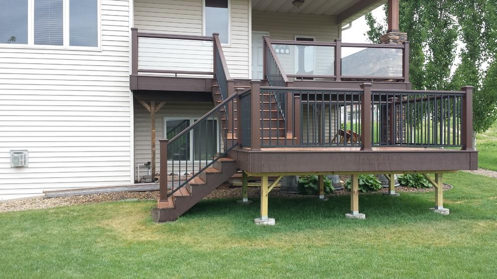 Trex Transcend Glass Railing, Trex Reveal Railing - Deck ...