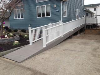 Trex Transcends Gravel Path/ Breezy Point Handicap Ramp