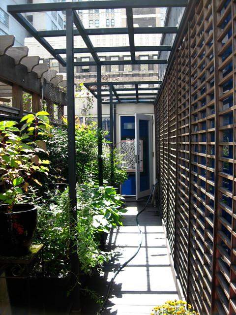 TriBeCa Rooftop contemporary-deck