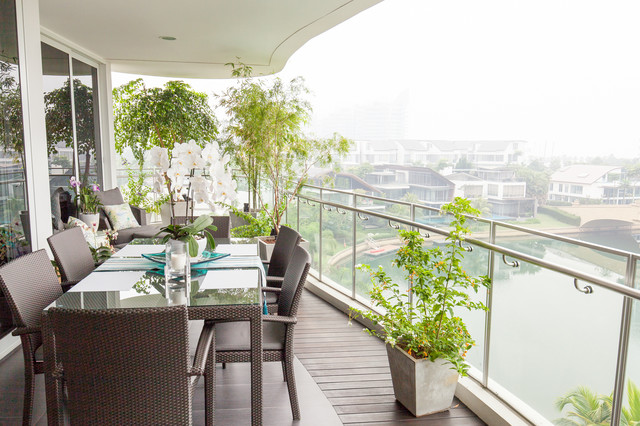 Turquoise Sentosa Transitional Terrace Singapore by Arete