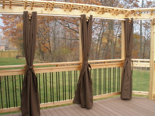 Two Tiered Composite Deck and Privacy Wall - Contemporary - Deck - Toronto - by Coleman-Dias³ ...
