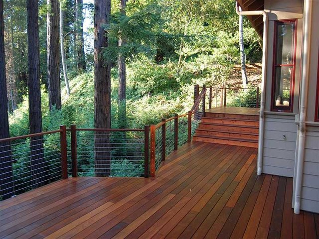 Ultra-tec® stainless steel cable railing system modern-deck