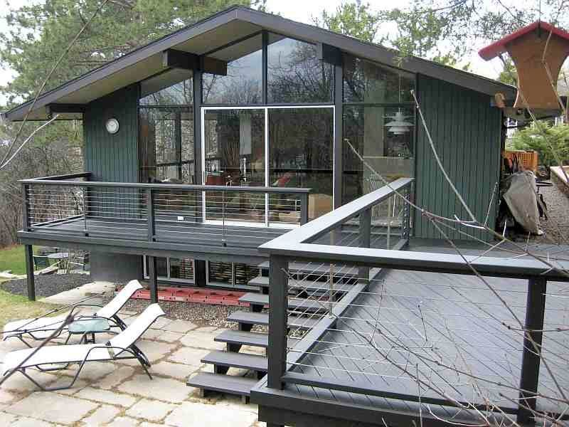 Ultra Tec Stainless Steel Cable Railing System Modern Deck Other By Ultra Tec