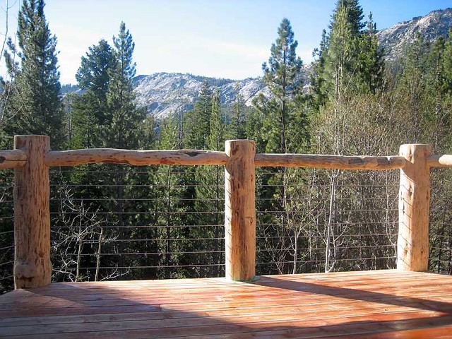 Outdoor Deck Lighting picture on Ultra tecR stainless steel cable railing system modern deck with Outdoor Deck Lighting, Outdoor Lighting ideas ae72e011c9314e653ee4bef551c8be3a