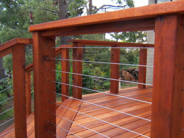 Ultra Tec Deck Cable Railing Modern