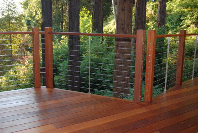 Ultra Tec Deck Cable Railing Modern Deck By Ultra