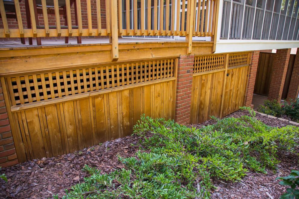 Deck - traditional backyard deck idea in Atlanta
