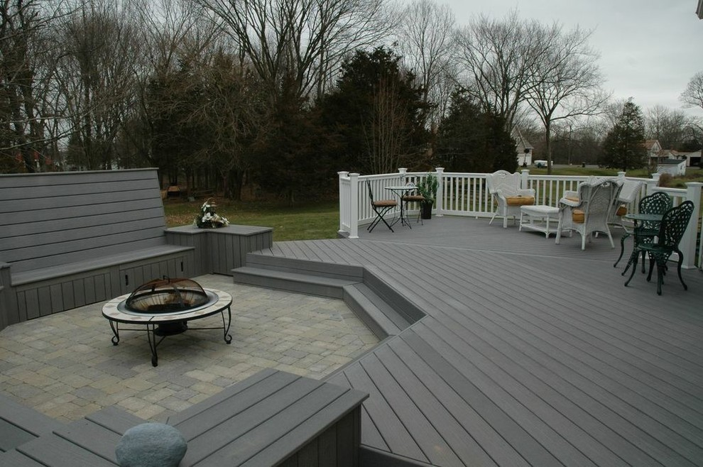 Deck And Patio Combination Design