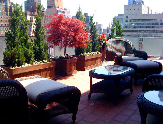 Deck Roof Garden Planter Bo