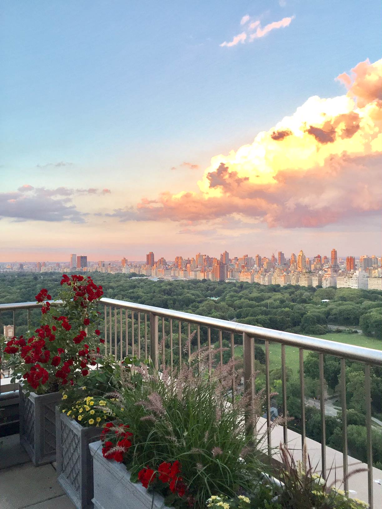 Upper West Side Terrace with a Priceless View