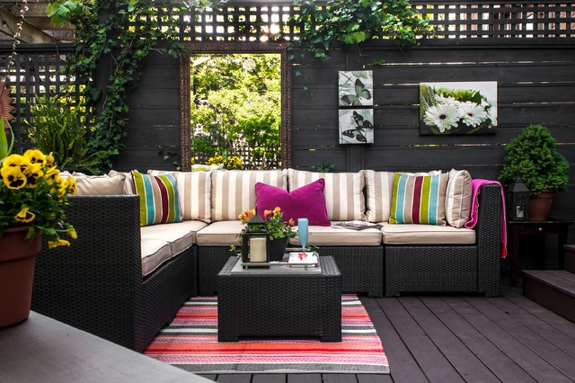 Urban Backyard - Contemporary - Deck - other metro - by ...
