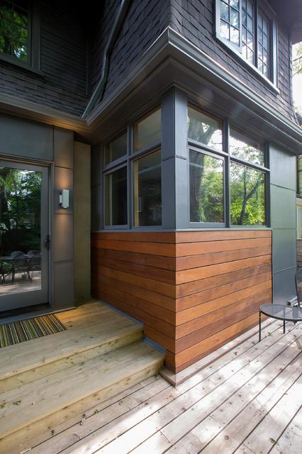 Urban Cooks' Home contemporary-deck