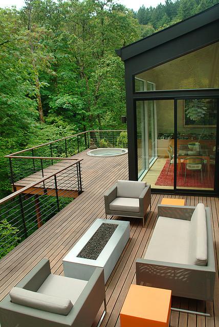 van Adelsberg / Grant Residence contemporary-deck