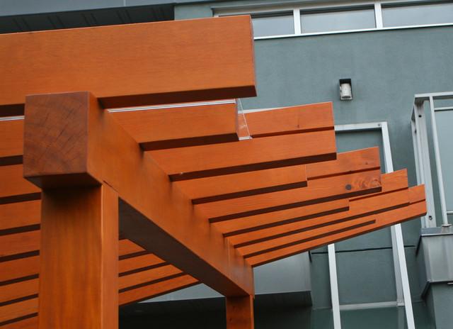 Vancouver Prefabricated Pergola & Deck modern-deck