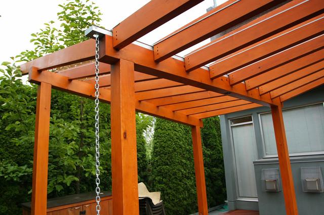 Vancouver Prefabricated Pergola Amp Deck Modern Deck