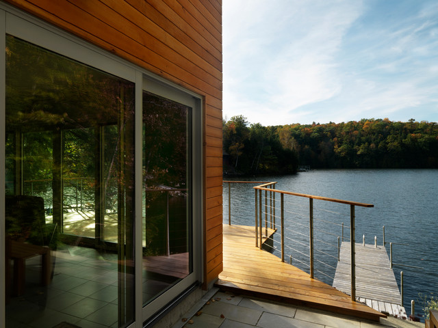 Vermont Lake Home Modern Patio Burlington By