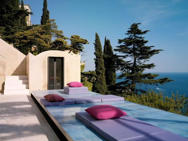 Villa in Positano - Mediterraneo - Terrazza - Napoli - di Lazzarini ...