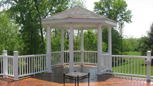 Warren Nj Ipe Deck Gazebo Bbq Traditional Porch